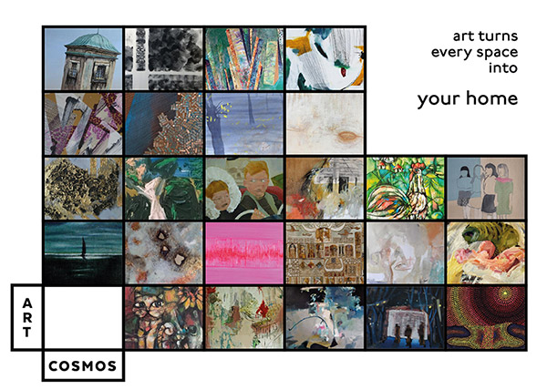 Artcosmos Gift Card - Art turns every space into your home